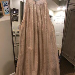 Lush gold dress